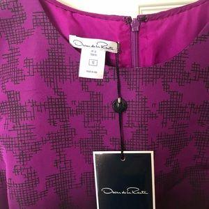 Oscar de la Renta Dresses - Oscar De La Renta Purple Ombré cocktail dress.
